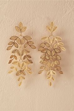BHLDN Lasya Earrings in Shoes & Accessories Jewelry Earrings Wedding Accessories, Jewelry Accessories, Jewelry Design, Bridal Earrings, Wedding Jewelry, Turquoise Jewelry, Gold Jewelry, Clean Jewelry, Amethyst Jewelry