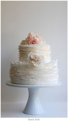 Wedding Cake by http://maggieaustincake.com/