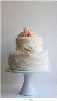 Wedding Cake by http://maggieaustincake.com/