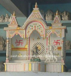 Marble Temple Designs For Home - Buy Pure Indian Marble Temple ...