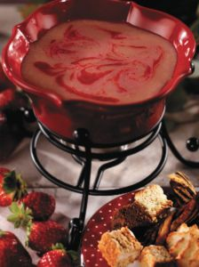 #Strawberries & Cream #Fondue...doesn't get much better! Make it at home with this recipe from our official cookbook, which features special discounts for #TheMeltingPot valued at around $40! Approximate discount value varies by location. Purchase your own cookbook here: http://shop.meltingpot.com/category/53-gifts.aspx