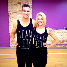 James Maslow - How awesome are these #TeamJeta shirts?! Huge thanks to @Team_Jeta & the #JetaNation! Props to @EttaVee 4 the sick design! #DWTS
