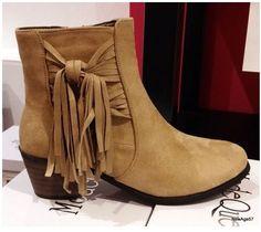 27155e9629a Bottines BEIGE franges talon confortable daim boots chaussures femme 36 37  38 40