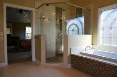 Alpharetta Master Bath Remodel - Fabulous Mosaic Tile!