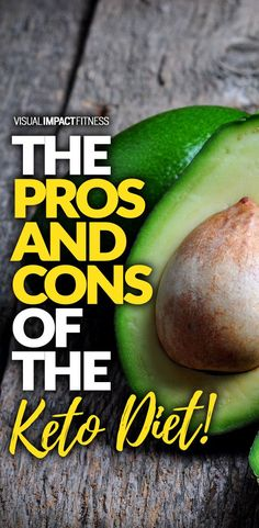 The pros and cons of the keto diet.