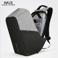 Multifunction USB charging Men 15inch Laptop Backpacks For Teenager  Fashion. Markryden Anti-theft Laptop Backpack Business Bags ... d20f61ed7f53a