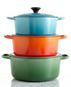Le Creuset Signature Enameled Cast Iron Round Dutch Ovens - Cookware - Kitchen - Macy's