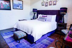 The Violet Suite Cacao Boutique Hotel, Antigua Guatemala Spanish Colonial, Fabrics, Boutique, Pillows, Bathroom, Furniture, Color, Design, Home Decor