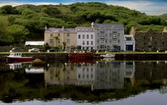 Quay House Clifden: This Connemara guesthouse dates from 1820 and offers one of the most colourful, and quirky, stays in West Galway. Ireland Bed And Breakfast, Best Bed And Breakfast, Connemara Ireland, House Worth, Ireland Homes, Beach Road, Ireland Travel, Historic Homes, Hotel Reviews