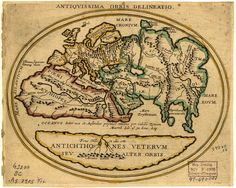 Old Map Europe, Northern Africa, Asia