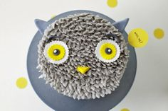 mr. gray owl...would be cool for a woodland themed birthday party...