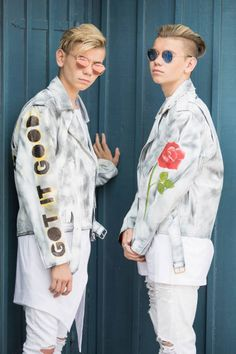 Pop singers Marcus & Martinus pose for a portrait session before honouring Crown Princess Victoria on the ocassion of her birthday at Victoriagarden on July 2017 in Borgholm, Sweden. Get premium, high resolution news photos at Getty Images Image Now, Still Image, Cute Twins, Popular People, Crown Princess Victoria, Cute Celebrities, Pop Singers, Stock Pictures, Portrait