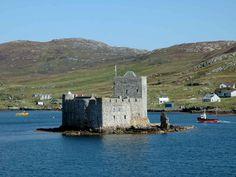 Kisimul  Castle, Isle of Barra. Where my McNeil ancestors are from.