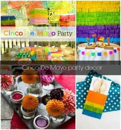 Cinco de Mayo Party ideas from food to decor!