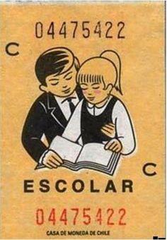 Boleto de microbus ochentero en Chile. Nostalgia, Historia Universal, Classic Cartoons, Web Magazine, Childhood Toys, My Memory, Retro, Good To Know, Pop Culture