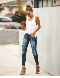 Simple summer outfits - cute summer outfits to wear now and you need asap page 20 College Outfits, Outfits For Teens, Cool Outfits, Night Outfits, Ski Outfits, Graduation Outfits, Teenage Outfits, Black Outfits, Church Outfits