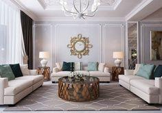 Светлая гостиная - Галерея 3ddd.ru