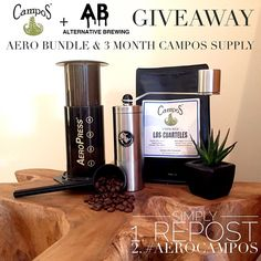 FINAL DAY Win 3 months Campos Coffee Supply and AeroPress Bundle! Simply: 1 Repost 2 #AeroCampos 3 Tag @CamposCoffee @AlternativeBrewing Winner Drawn 6th of March Shipping Worldwide  Includes: 1 AeroPress Mini Starter Bundle & 3 months Campos Filter Coffee Supply Must be following @alternativebrewing & @camposcoffee to enter…