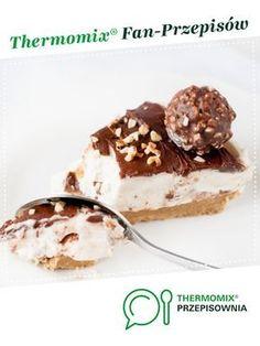 Sernik Rocher_bez pieczenia jest to przepis stworzony przez użytkownika Gocharynka. Ten przepis na Thermomix® znajdziesz w kategorii Desery na www.przepisownia.pl, społeczności Thermomix®. Snack Recipes, Snacks, Tiramisu, Cereal, Cheesecake, Food And Drink, Pudding, Tasty, Baking