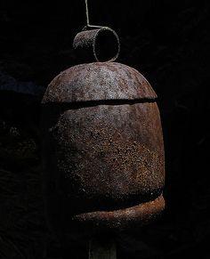 Wabi Sabi - Gong  -rust patina, gorgeous