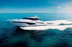 Efficient, Agile, Poised: Princess Yachts Introduces New V Class Models | American Luxury