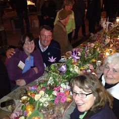 Dinner event at Florabundance Inspirational Design Days