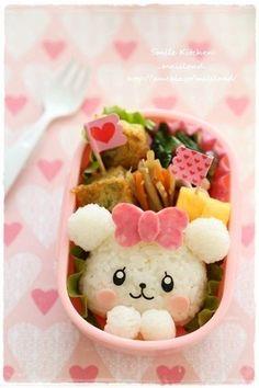 Cute bear bento