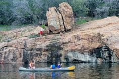 Devil's Waterhole at Inkslake State Park - Texas STate Parks in Hill Country Camping In Texas, Texas Travel, Texas Parks, State Parks, Family Vacations In Texas, Family Travel, Inks Lake State Park, Great Places, Places To See