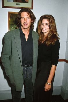 Richard Gere and Cindy Crawford | The Evolution Of The Oscar Couple