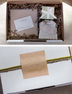 boxed - Wedding Packaging - Photography: A Photo by Ashley