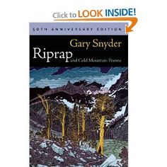 Riprap and Cold Mountain Poems - Gary Snyder (Reed Alum '51)