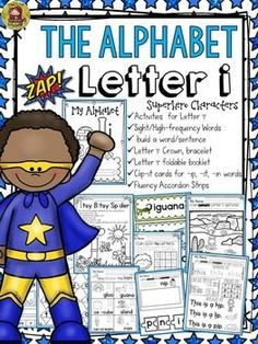 The Alphabet '/i/' booklet features interactive activities for the letter '/i/'. Students get to compile all activities in a booklet to take home. In addition, they craft a 'Letter '/i/' Champ' crown and bracelet and put together a mini flipbook.  https://www.teacherspayteachers.com/Product/PHONICS-THE-ALPHABET-LETTER-i-2411165
