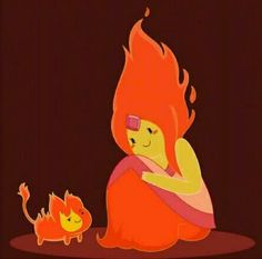 Adventure Time - Flame Princess & Flambo