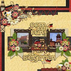 Kellybell Designs - Bavarian Adventure, Bavarian Adventure Paper Stacks, Bavarian Adventure Page Starters, Bavarian Adventure Word Art