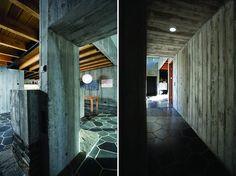 Iceland's Gorgeous Passive Solar Hof House Concrete Wood, Poured Concrete, Cottage Design, House Design, Eco Architecture, Passive House, Green Building, Small World