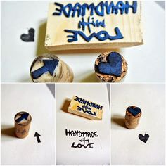Stamps handmade with LOVE