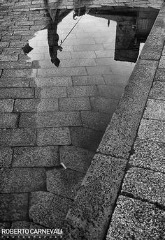"""""""Upside down"""" - (Sotto sopra)  Italian urban street photography in black and white   (Bologna - Italy)"""