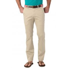 Check out Summer Weight Channel Marker Trim Fit Pant from Southern Tide