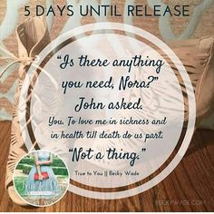 @beckywadewriter continues her countdown to release day! #CFRRaddicts