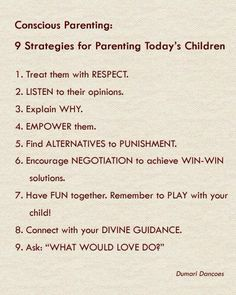 9 Strategies For Parenting Today's Children
