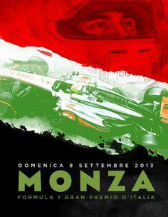 The Italian 2013 Formula One Grand Prix at Autodromo di Monza