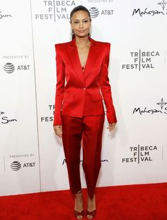 This Trend Is Dominating the Red Carpet at the Tribeca Film Festival via @WhoWhatWearUK