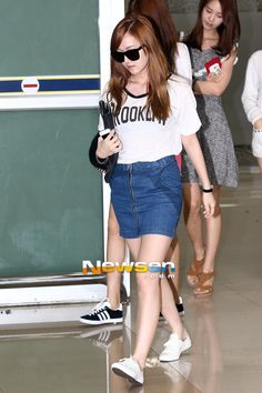 [120727] Jessica at Gimpo Airport Back from Japan