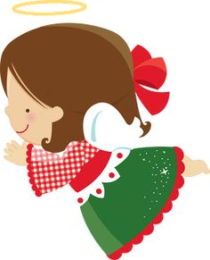 Ckren uploaded this image to 'Navidad/Angeles Navidenos'. See the album on Photobucket. Merry Little Christmas, Christmas Clipart, Christmas Pictures, Christmas Angels, Christmas Art, Cute Mermaid, Pretty Drawings, Angel Crafts, Clip Art