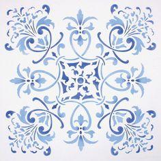 melanie royals tile stencil