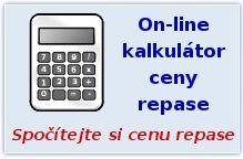 Kalkulátor ceny repase - spočítejte si snadno a rychle cenu repase Vaší baterie