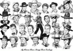 Doug Mcclure, James Drury, John Russell, Vintage Tv, Vintage Cowgirl, Vintage Stuff, The Lone Ranger, Tv Westerns, Star Show