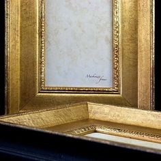 4x6 Old Gold Picture Photo Frame by mackenzieframes on Etsy, $49.00