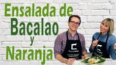 ENSALADA DE BACALAO Y NARANJA. HABITACION SALUDABLE