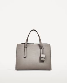 Image 2 of CITY BAG WITH BAG CHARM from Zara